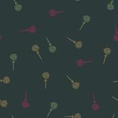 Licorice Flowers Dark