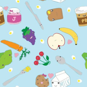 Kawaii Happy Snacks Toss