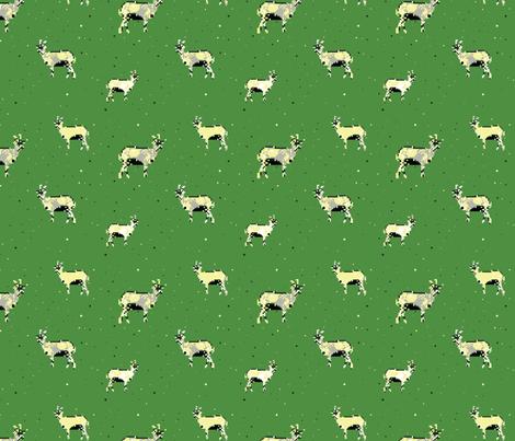 Goats fabric by lunova_labs on Spoonflower - custom fabric