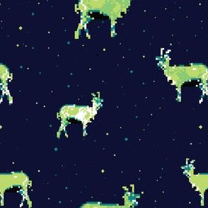 Space Goats - Spoonflower
