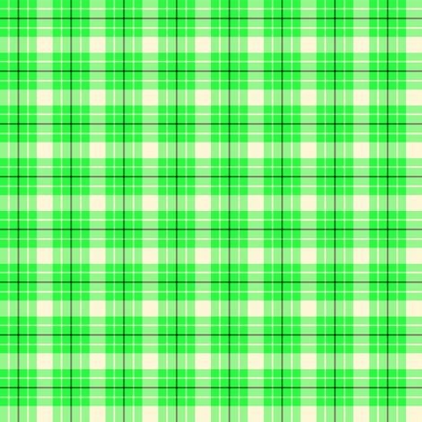 Sugar Cookie Check - Green fabric by abbie0akley on Spoonflower - custom fabric