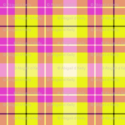 Cream, Pink and yellow