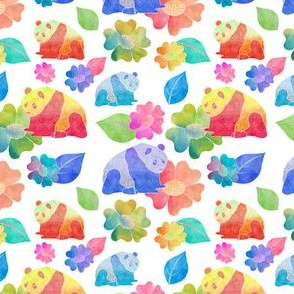 Watercolour Panda
