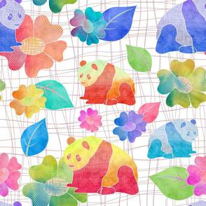 Watercolour Panda 2
