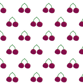 cherries smiling