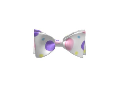 Four Watercolor Polka dots