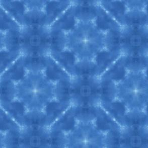 Deep Blue Sky Kaleidoscope