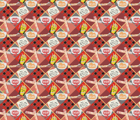 snack fabric by roxiespeople on Spoonflower - custom fabric