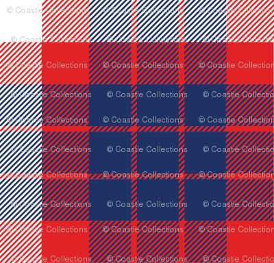 Coast Guard Tartan Plaid