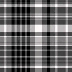 Black and White Plaid 4