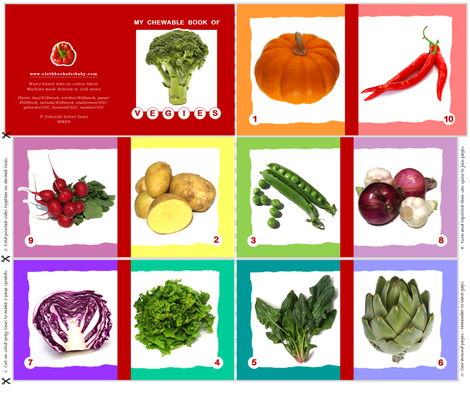 my-chewable-book-of-vegies fabric by debsch on Spoonflower - custom fabric