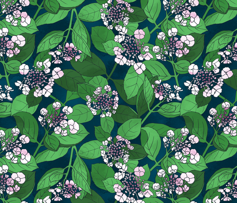 a bunch of blooms fabric by karinka on Spoonflower - custom fabric