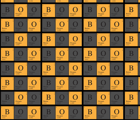 Periodic Boo fabric by robyriker on Spoonflower - custom fabric