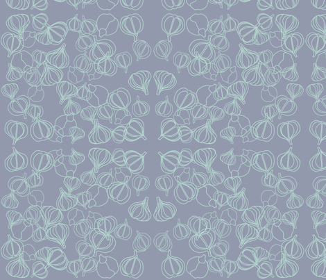 garlicoutlines fabric by snap-dragon on Spoonflower - custom fabric