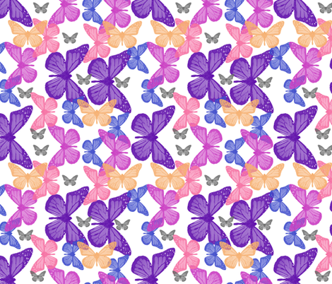B_FLIES fabric by mammajamma on Spoonflower - custom fabric