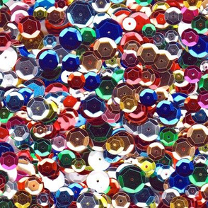 sequin scatter