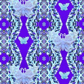 Butterfly Lace Stripe