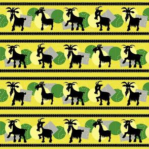 Goat stripes