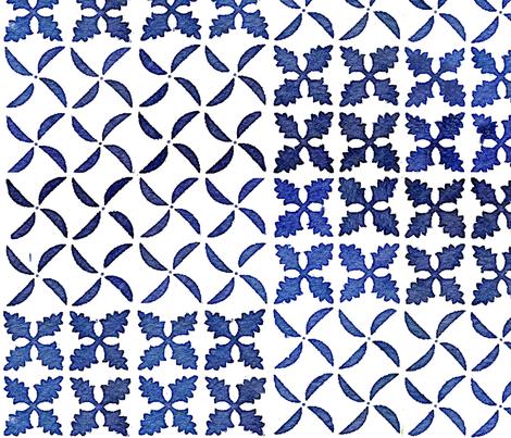 Hawaiian Quilt 2a fabric by muhlenkott on Spoonflower - custom fabric