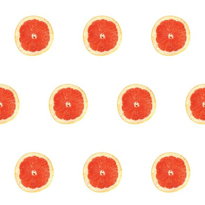 Cirtus Polka Dots, Ruby Red Grapefruit