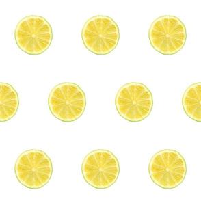 Cirtus Polka Dots, Lime