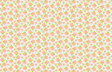 CoralRose fabric by blairfully_made on Spoonflower - custom fabric