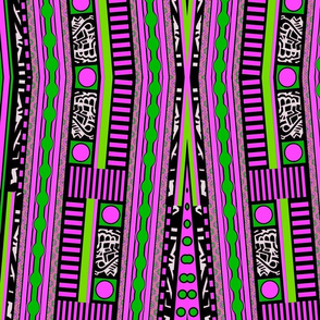 Funky Town Stripes Pink