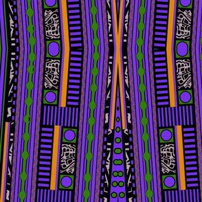 Funky Town Stripes Purple