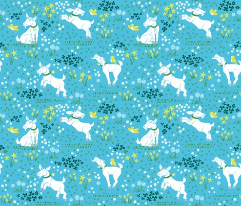 Rrgoat_through_tulips_blue_copyright_pinkywittingslow_2015-01_shop_preview