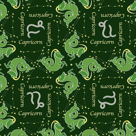 Capricorn fabric by jjtrends on Spoonflower - custom fabric