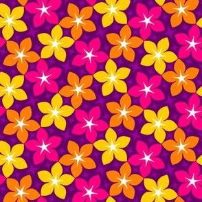 04455443 : S43 floral : karmic