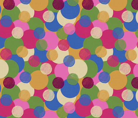 Bubbles in Lizard Lounge fabric by anniedeb on Spoonflower - custom fabric