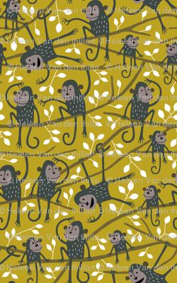 Monkey jungle tree mustard