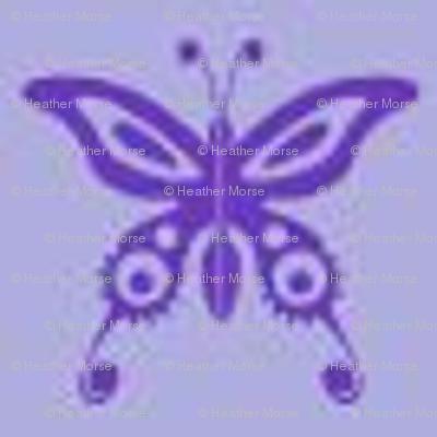 Purple Butterflies-ed