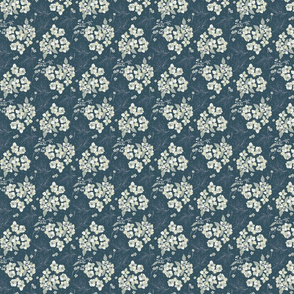 Wildflower-ditsy-Dark-Gray