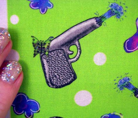 water pistols and butterflies