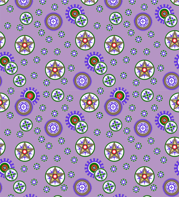 Coconut_shells_purple fabric by malolo on Spoonflower - custom fabric