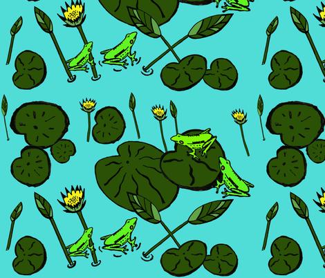 green_1 fabric by ngema on Spoonflower - custom fabric