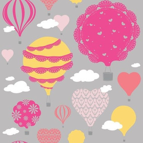 Doily Balloons (Pink)