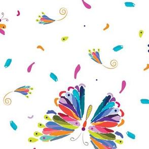 butterfly confeti