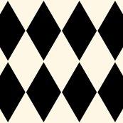 Rharlequin_diamonds___cosmic_latte_and_black___peacoquette_designs___copyright_2015_shop_thumb