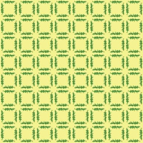 Grassy Checker - Light Yellow