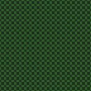 Grassy Checker - Dark Green