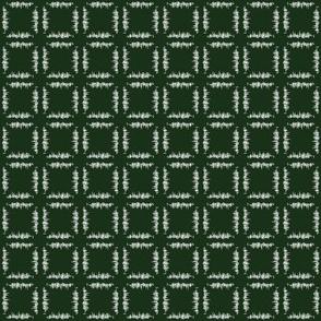 White Grass - Dark Green