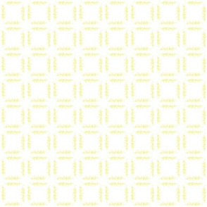 Light Yellow Grass - White