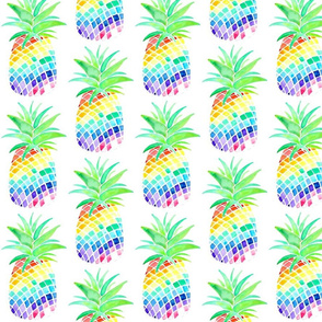 Rainbow Pineapples