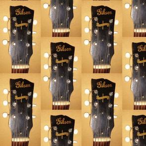 Gibson banner guitar