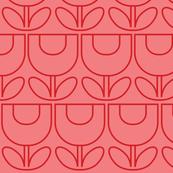 MCM Tulip Line Pink