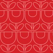 MCM Tulip Line Red