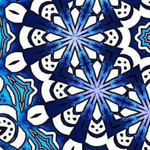 Mosaic Blue Large